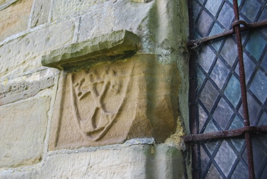 St Peter's, Dalby - possibly keys of Heaven entrusted to Simon Peter