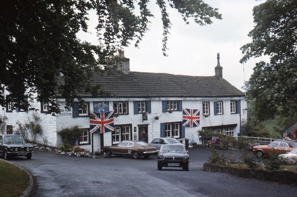 Pennine Way, East Marton 1977