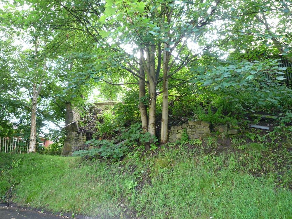 Site of Redlam Farm where Alice Barnes lived