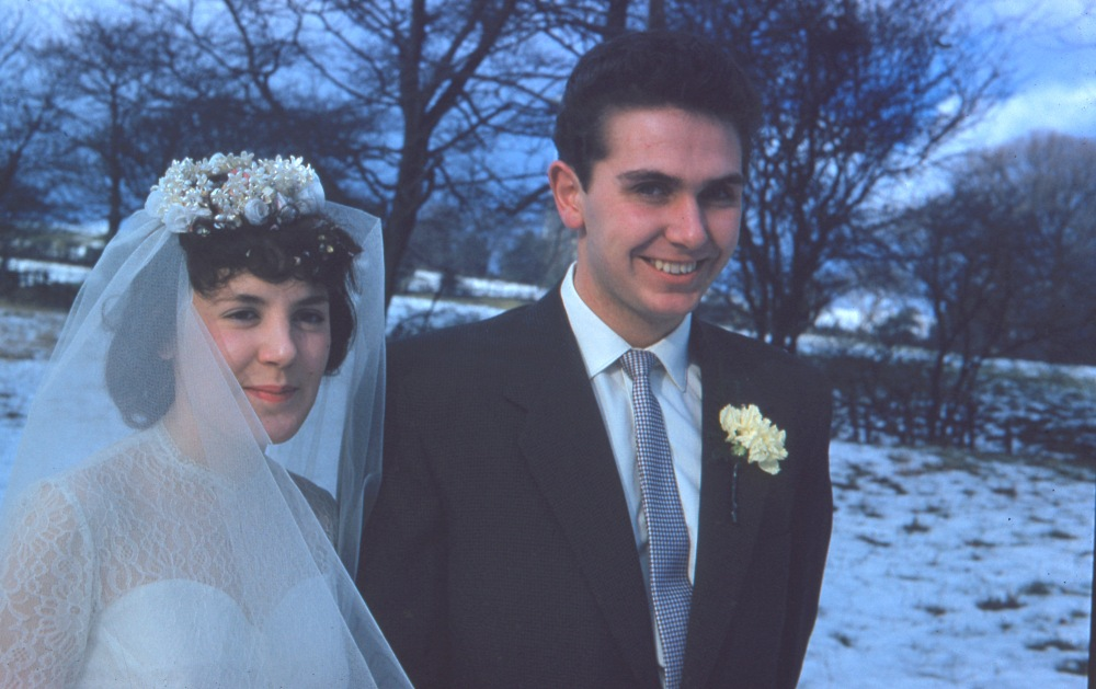 David and Margaret (née Mount) Drake, 20th February 1960