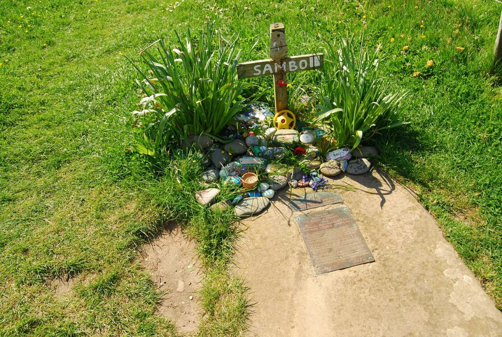Sambo's grave, Sunderland Point