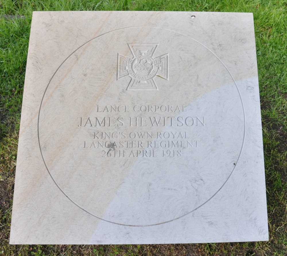 My copyright.  Paving Stone in Coniston